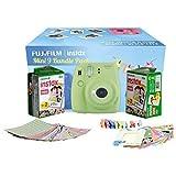Fujifilm Instax Camera Mini 9 Bundle Pack with 40 Films Shot Free (Lime Green)