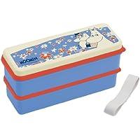 MOOMIN (Moomin) silicon Shirubuta two stage lunch box SSLW6 (japan import)