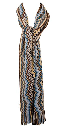 Missoni Schal Scarf Scialle Sciarpa Chal Bufanda - Orange Label - ON (Accessoires Schals Missoni Damen)