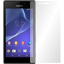 "2 x Slabo protector de pantalla Sony Xperia M2 lámina protectora de pantalla lámina protectora ""Ultra Transparente"" invisible MADE IN GERMANY"