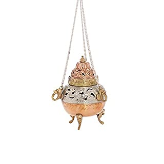 Anzmann Incense Burner Hanging Small Incense Handmade Antique 1616