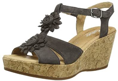 Gabor Shoes Gabor Comfort 82.843.29 Damen Clogs & Pantoletten, Grau (zinn), EU 44 (UK 9.5) (US 12)