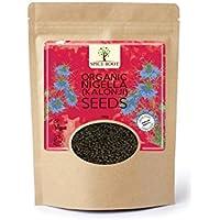 Semillas orgánicas de Nigella (Kalonji) 100g, Black Nigella Seeds Organic