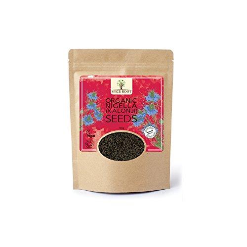 BIO-Nigella Samen 100g (schwarze Samen, schwarze Zwiebelsamen, Kalonji) - Certified Organic (Nigella Samen)