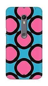 Amez designer printed 3d premium high quality back case cover for Motorola Moto X Style (Geometric Patterns)