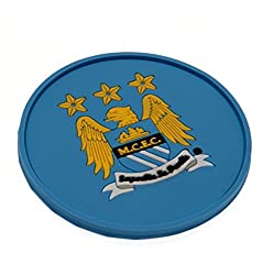 Manchester City F.C Manchester City F. C Manchester City F. C Manchester City F. C. Rubber Coaster Official Merchandise