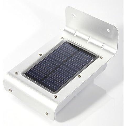 LL l'energia solare per esterni 16 led sensore di movimento di sicurezza rilevatore di luce della lampada da giardino - Vento Rilevatore