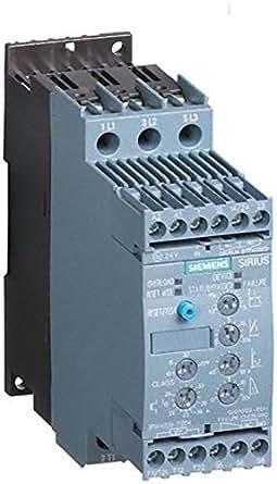 Siemens indus.sector sanftstarter sirius 3rw 4038-1BB04 37kW/400 v/24 v, format 3RW4 sanftstarter 4011209692206 s2
