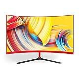 Wearson 3000R 27 Pouces Incurvé écran Large LCD Professionnel Moniteur Gaming 2mm...