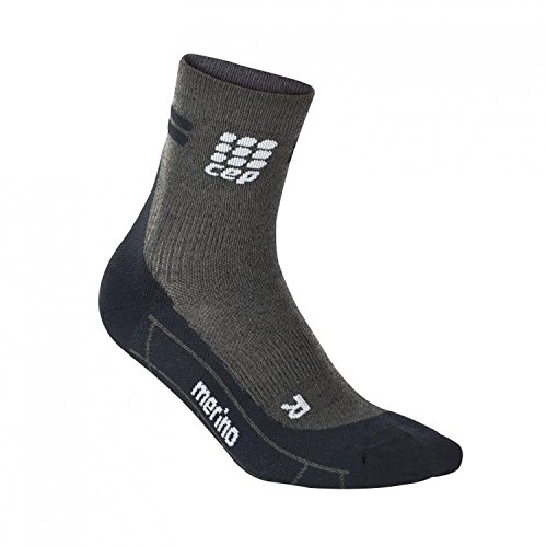 CEP Herren Laufsocken Dynamic+ Short Socks WP5B anthracite/black 39-41