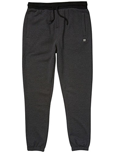 g.s.m. Europe–Billabong Balance Pants Pantaloni Nero mélange
