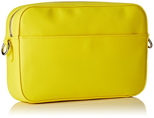 Lacoste NF1875DC, Sac Bandouliere Femmes, 16.5 x 5 x 24.5 cm EMPIRE YELLOW