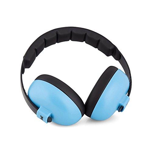 BabyBanz GBB008 Baby-Gehörschutz, 0-2 Jahre, mit extra weichem Kopfbügel, aqua - 2