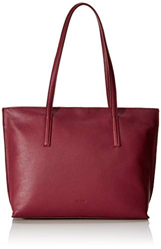 BREE Damen Cary 5, Tote S W19, Rot (Rhododendron), 11.5x27x33 cm