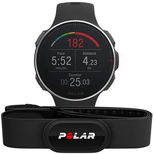 Polar Vantage V TI HR:   Reloj Premium con GPS y Frecuencia Cardíaca. Caja de Titanio. Sensor H10 - Multideporte y perfil de triatlón - Potencia de running
