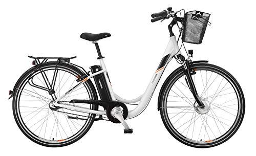 Telefunken E-Bike 28 Zoll Elektrofahrrad - Rücktritt & 7-Gang Shimano Nabenschaltung, Pedelec Citybike Alu mit Fahrradkorb, 250W und 10Ah, 36V Sitzrohrakku, RC756 Multitalent