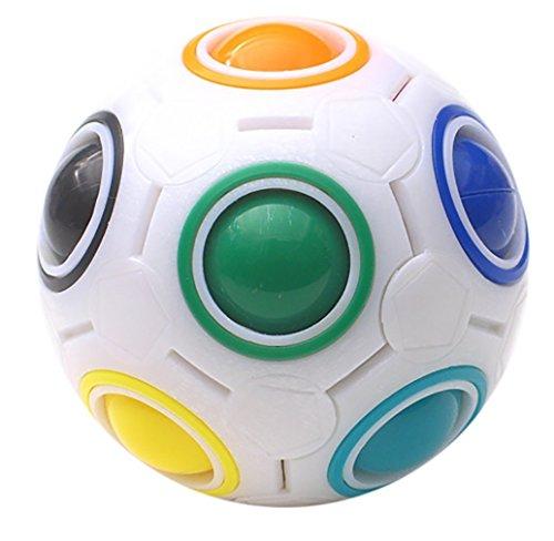 Lbsel Magic Rainbow Ball Magic Cube Puzzle Ball Speed   Game Divertenti Giocattoli educativi, Regali per bambini Bambini Adolescenti Adulti