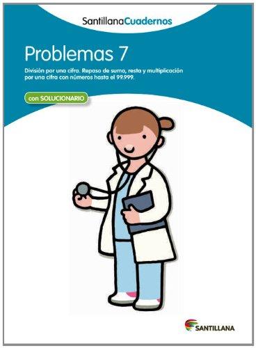 PROBLEMAS 7 SANTILLANA CUADERNOS - 9788468012513