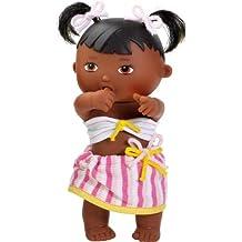 Paola Reina - Vilma, muñeca bebé negrita, de vinilo, 22 cm (23565)