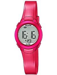 Calypso Reloj de pulsera para mujer cuarzo reloj reloj de plástico con Poliuretano banda de alarma Cronógrafo digital todos los modelos k5677, variante: 04