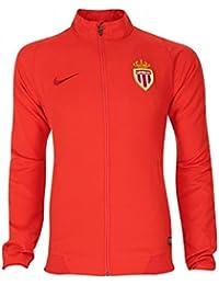 Image of 2015-2016 Monaco Nike Woven Jacket (Red)