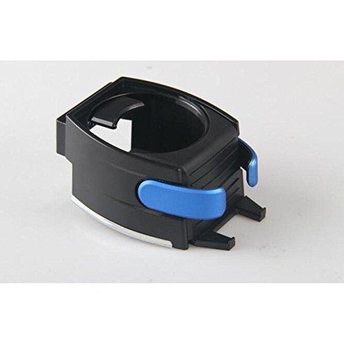 BLUEUK Kfz-Halterung für Wasserflasche, Getränke, Kaffeedose, aus Kunststoff, blau