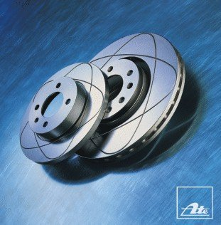 Preisvergleich Produktbild ATE 24031002771 Bremsscheibe Power Disc - (Paar)