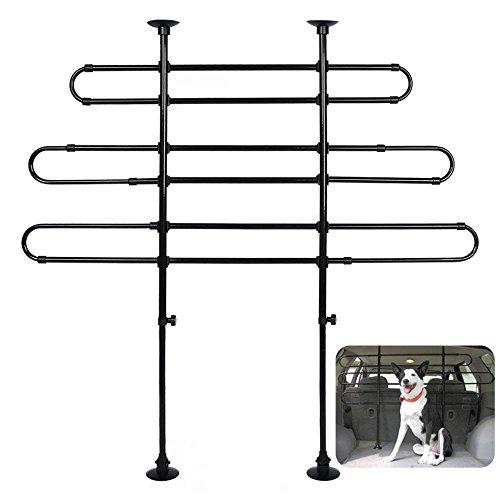 WOLTU HT2032 chien grill,voiture universel pour chien garde grill,les grilles de séparation pour animal,ajustable,garde Cargo,Grilles pare-chien