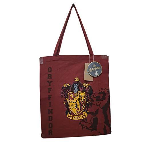 e6f54d36b23 Harry Potter All House bolsa de lona Red - Gryffindor
