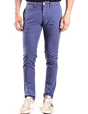 Siviglia Hombre MCBI278017O Azul Algodon Pantalón