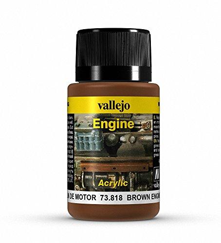 Vallejo (40ml Braun Motor Ruß Verwitterung Effekt Flasche Luft Über Motor