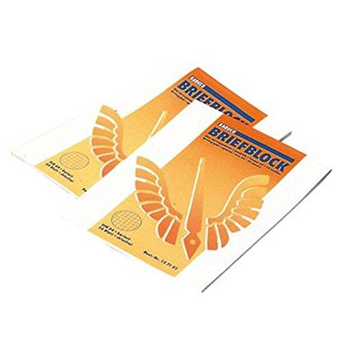 Briefblock, blanko, A4, 50 Blatt, 70 g/qm
