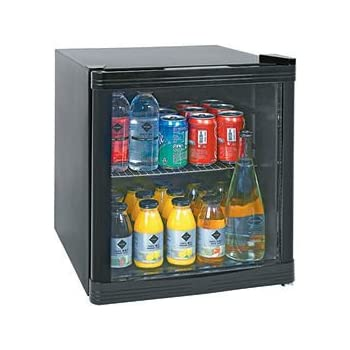Horeca Select Glastür-Kühlschrank Kühl-Würfel 51,5 x 43,0 x 48,0 cm ...