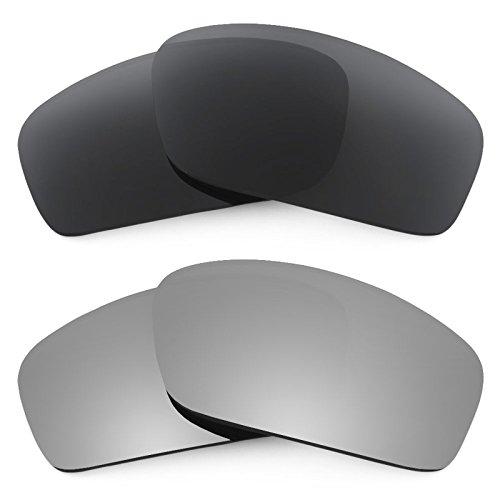 Revant Ersatzlinsen für Oakley Splinter Polarisiert 2 Paar Kombipack K001