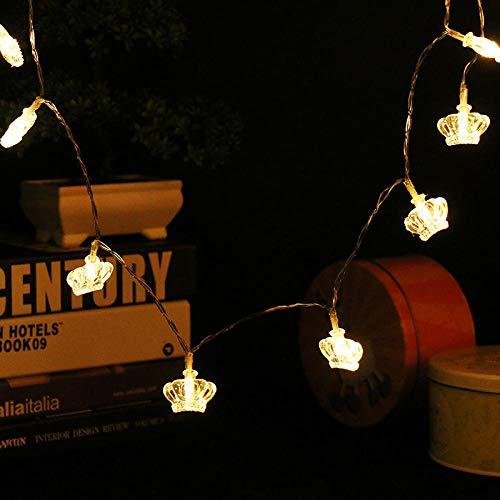 Krone Lichterkette LED wasserdicht Urlaub String Batterie Fall @ Crown 3 Meter 30 Lichter - Krone-schlafzimmer-möbel