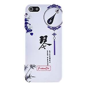 Acheter Classique étui rigide en plastique guqin pour iphone 5/5s
