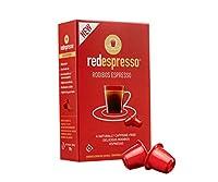 Red capsules café 10 x 5 g compatible avec les machines nespresso-thé rooibos peut être utilisé comme café pour les cappuccino, les latte