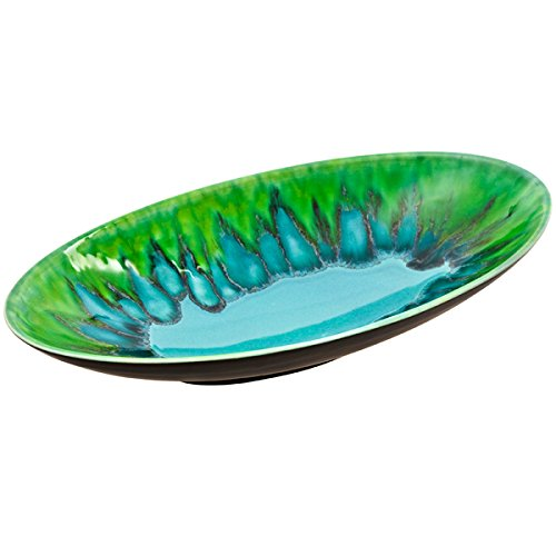Poole Pottery Alexis Oval Dish 39cm