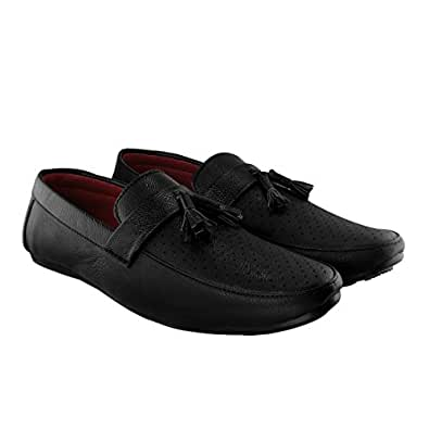 Blinder Black Brown Tan Non-Lace Mocassion Loafers Shoes for Men On Amazon.in