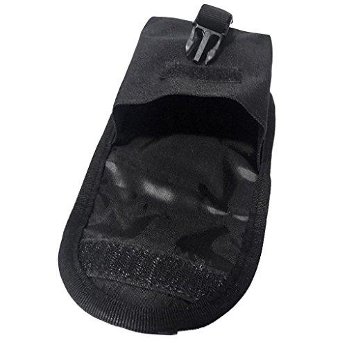 ELECTROPRIME 2pcs Scuba Dive Spare Weight Belt Pocket - Strong & Durable 14 x 12cm Black