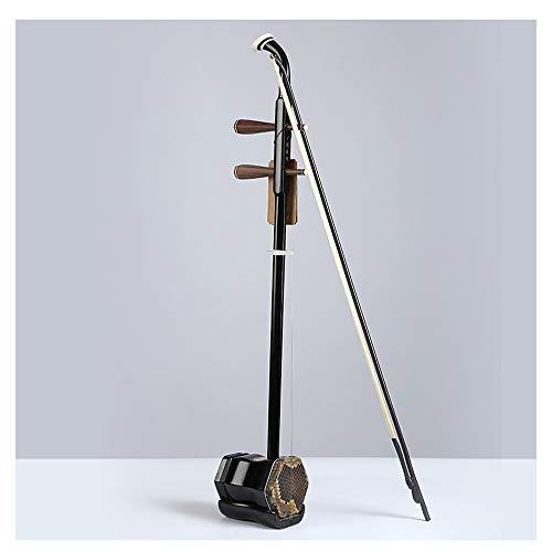 C Five Instrumento Musical de Cuerda violín violín violín de Solidwood Erhu Chino Adecuado para los Amantes de los Instrumentos Musicales Chinos (marrón)