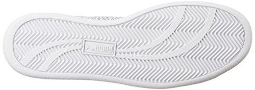 Puma Unisex-Erwachsene Match 74 Summer Shade Low-Top, 40.5 EU Weiß (puma white-puma black 02)