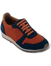 nae Re-Bottle Orange - Zapatillas deportivas 100% veganos y ecológicos. Fabricadas a partir de PET reciclado de botellas de plástico recicladas