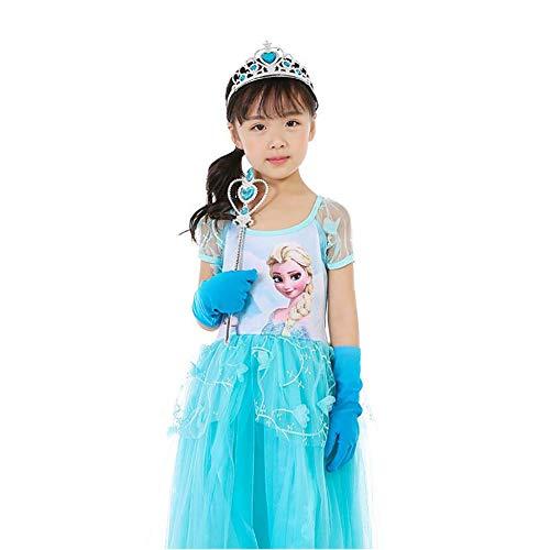 Yaxuan 2018 Prinzessin Kostüm Mädchen Halloween/Karneval/Kindertag Festival/Urlaub Halloween Kostüme Kleider Maskerade ()