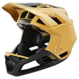 Fox Downhill-MTB Helm Proframe Gold Gr. S