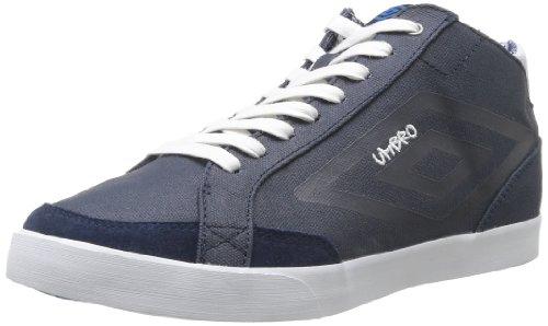 Umbro Terrace Hi Canvas, Scarpe da ginnastica Uomo Blu (Bleu (438 Marine/Blanc/Bleu Atome))