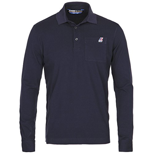 Polo Shirts - Arthur Stretch, Blu, L IT Uomo