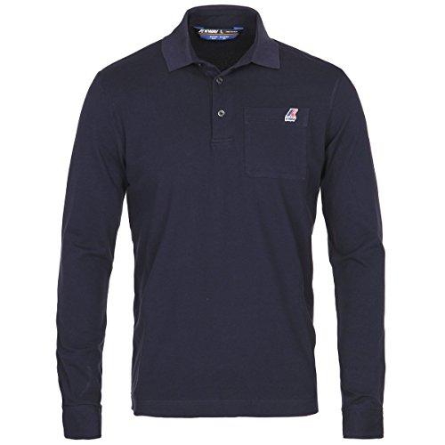 Polo Shirts - Arthur Stretch, Blu, L IT Uomo
