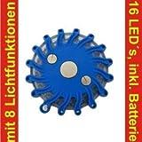 blaue Notfalllampe, Sondersignal, Rettungsdienst THW Feuerwehr