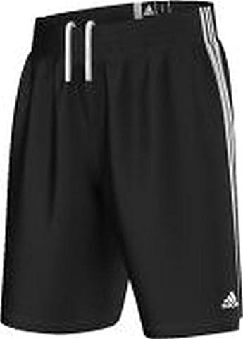 Adidas Practice Basketball Hose, schwarz/weiß Größe XXXL